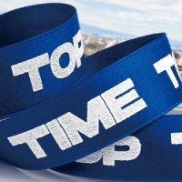 Double Face Polyester Cotton Ribbon Image 2