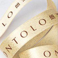 Gold Purl Satin Image 1